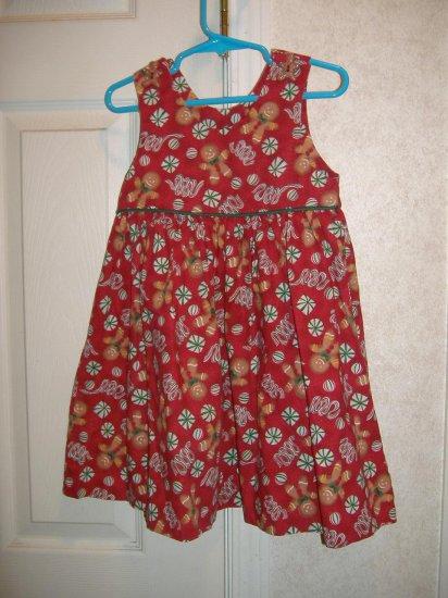 Little Girl Dress By Judy Lynn - Size 4T
