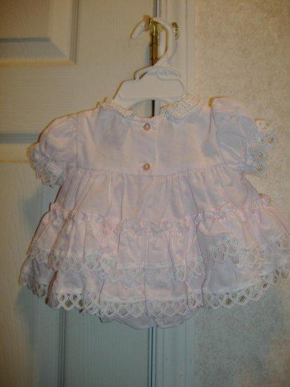 Infant Girl 2 Piece Set By Jo Lene - Size 0 - 6 Months