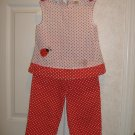 Little Girls 2 Piece Outfit By Specialty Girl -Size 6