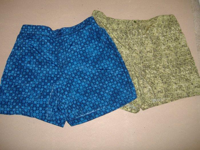 2 - Pair Of Ladies Catalina Shorts - Size Large