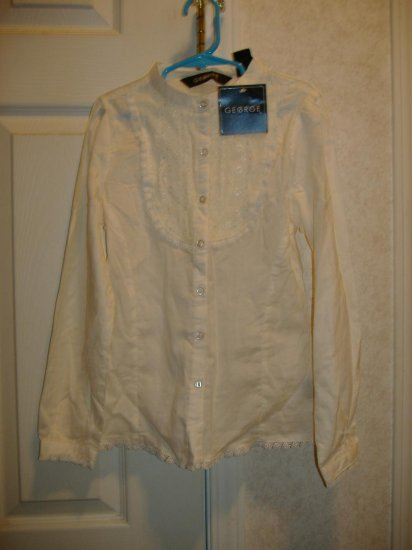 Girls Lace Blouse - By George