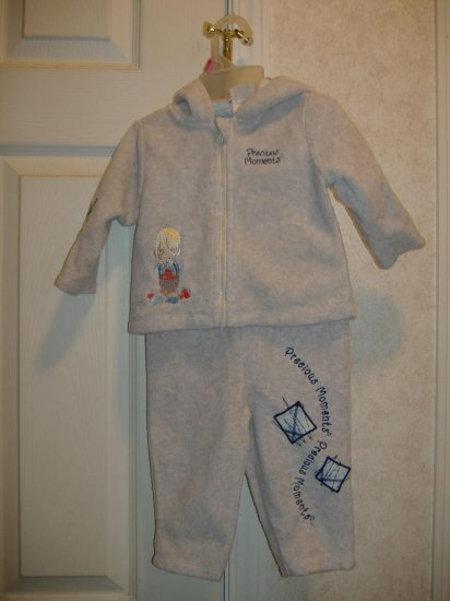 2 Piece Infant Girls Set By Precious Moments - Size 6/9 Months