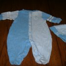 Infant Boys 2 Piece Outfit By Babyworks  Size 0/3 Mos