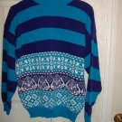 Ladies Pullover Sweater By American Pride    Size Large
