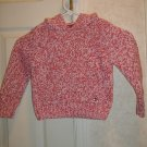 Girls Tommy Hilfiger Hooded Sweater    Size 4 / 4T