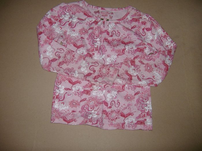 Girls Fade Glory Top     Size 8