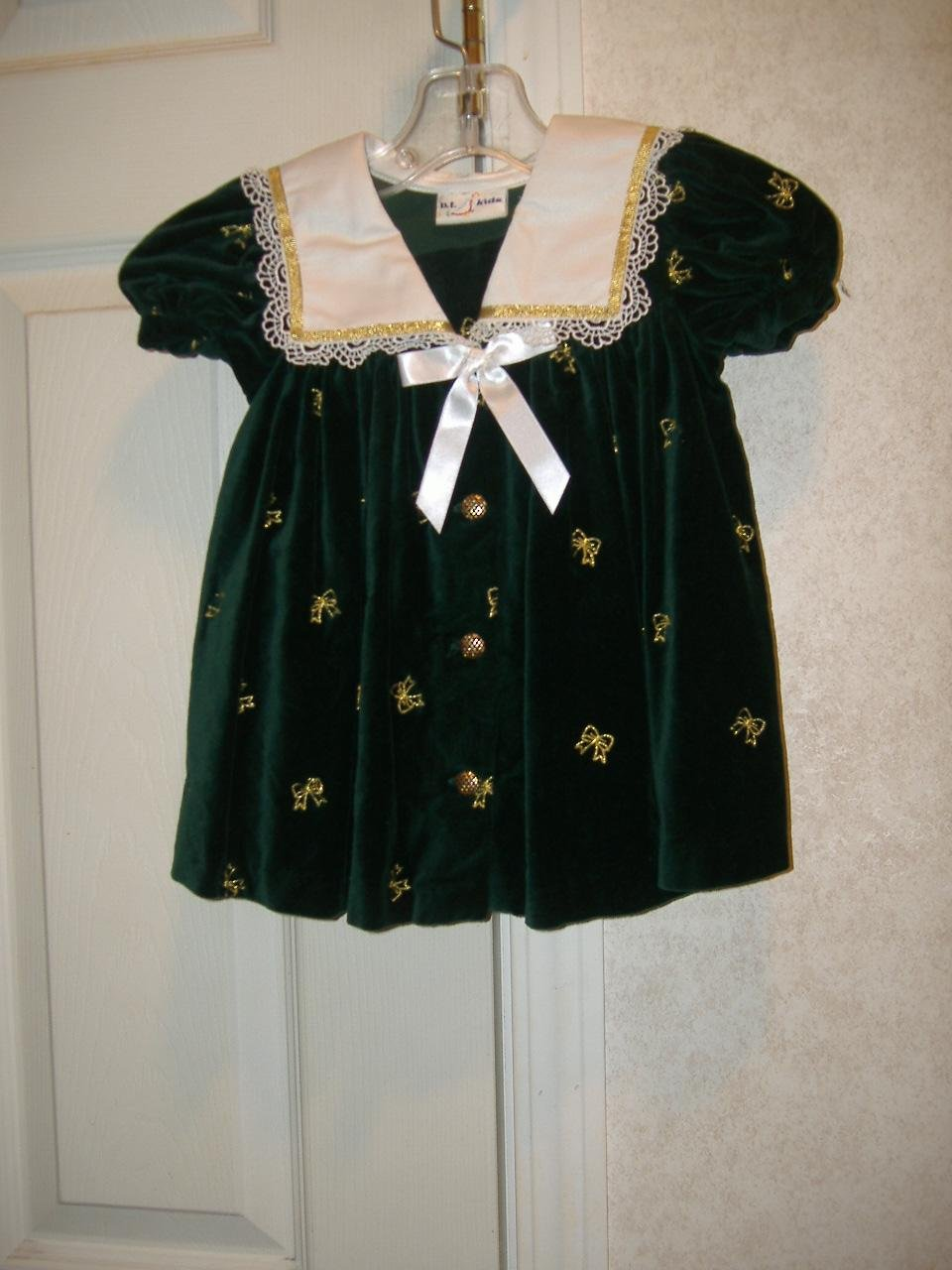 Infant Girl Dress By B.T. Kids     Size 24 Months