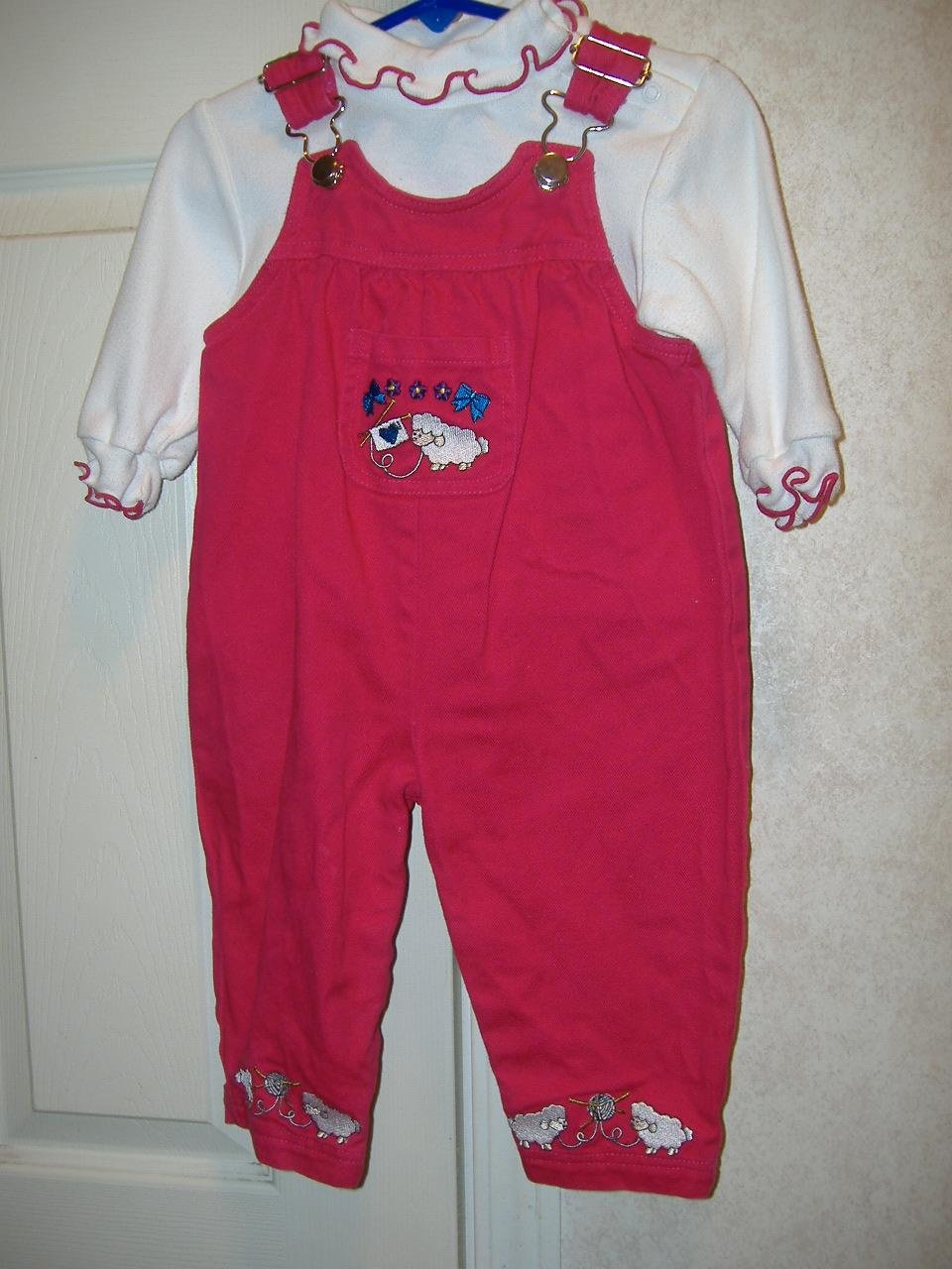 2 Piece Infant Girl Outfit By Samara     Size 18 Months