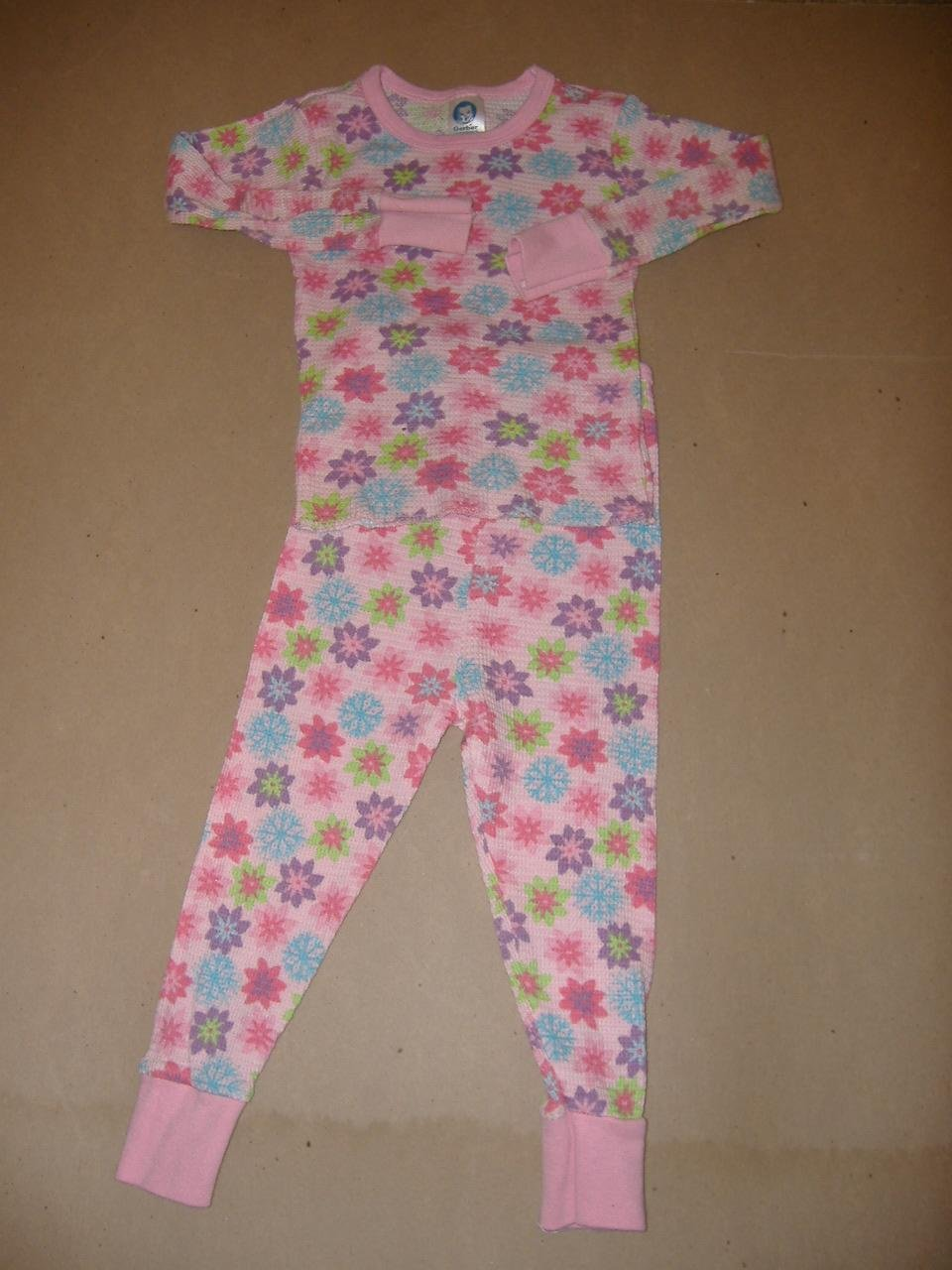 Gerber 2 Piece Girl's Sleep Set   Size 4T
