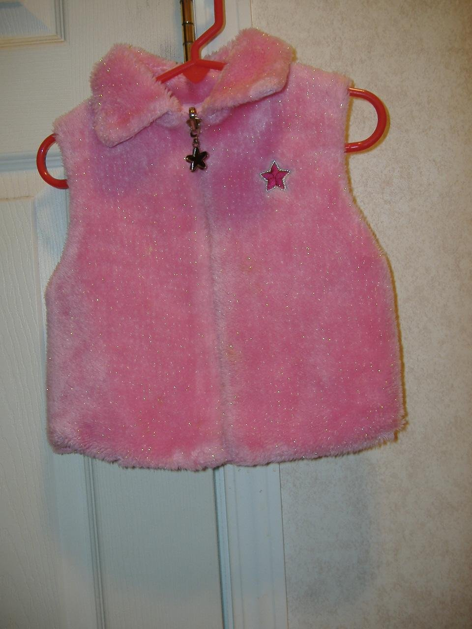 Toddler Girl's Reversible Vest  Size 24 Months
