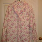 Ladies Flannel Pajama Set - Size 2X