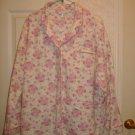 Ladies Flannel Pajama Set - Size 2X