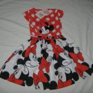 Girls Minnie Mouse Dress   Size 6