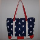 Women's Shoulder Bag w/ Flag Pattern
