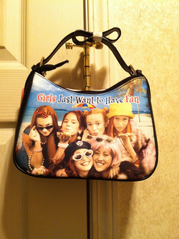 Girls Just Want To Have Fun Rhinestone Handbag
