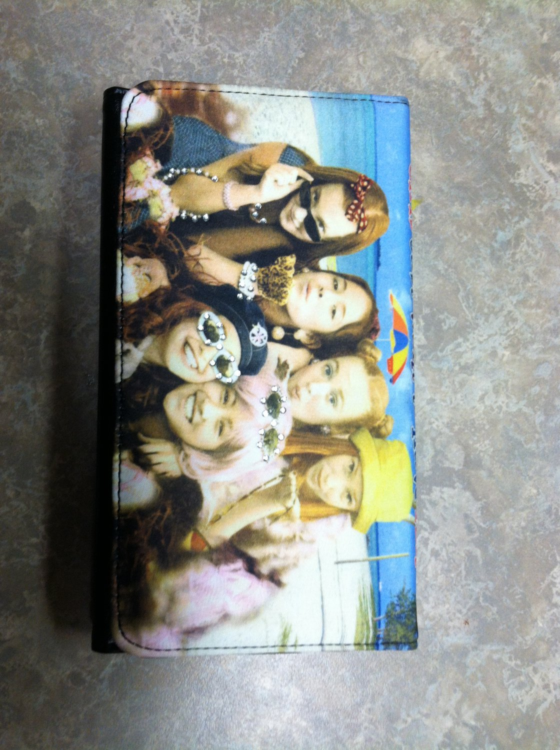 Girls Just Want To Have Fun Wallet & Checkbook