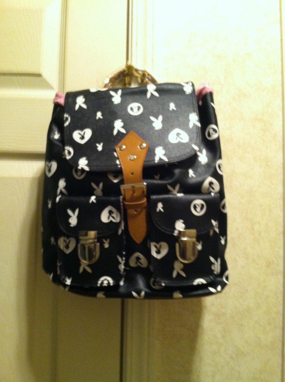 PlayBoy Cinch Sack Backpack