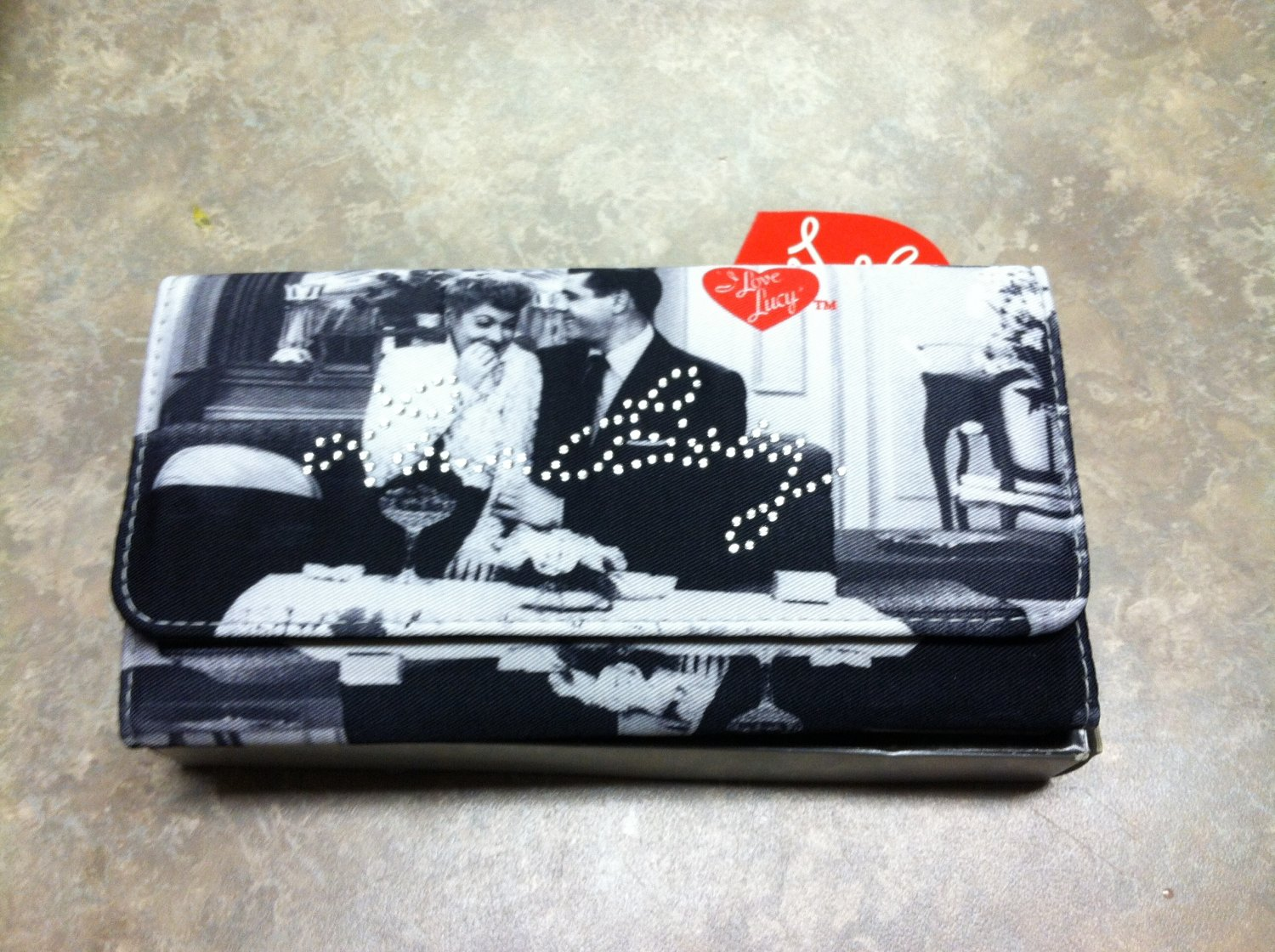 Lucy At Home Wallet /Checkbook