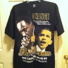 Barack Obama  & Martin Luther King Jr.T-Shirt The Dream Size  2X