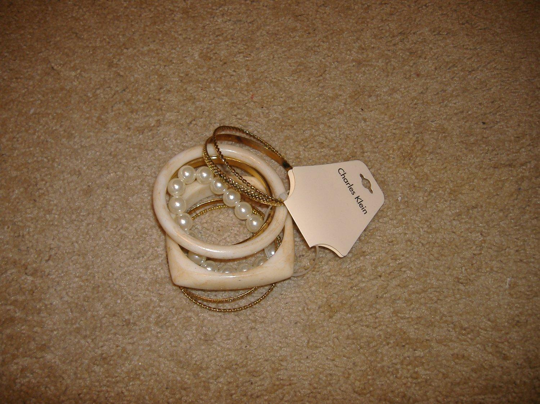 Lot Of 7 Bracelets by Charles Klein