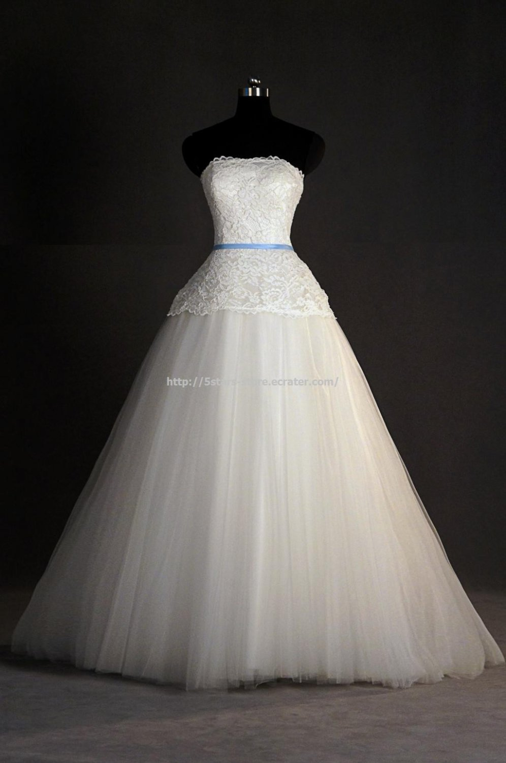 White Wedding Formal Dress Sleeveless Lace Floor-Length A-Line Bridal Dress D2015742