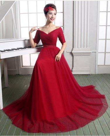 Sweetheart A Line Wedding Dresses Pregant Cap Sleeve Crystal Belt Lace Bridal Dress D2015919
