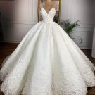 Lace Wedding Dress Spaghetti Straps Bridal Ball Gowns Custom Made Wedding Gown H91126