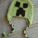 Mine Craft Creeper (inspired) Hat