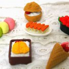 Japan Kawaii Food Erasers- Surprise Set