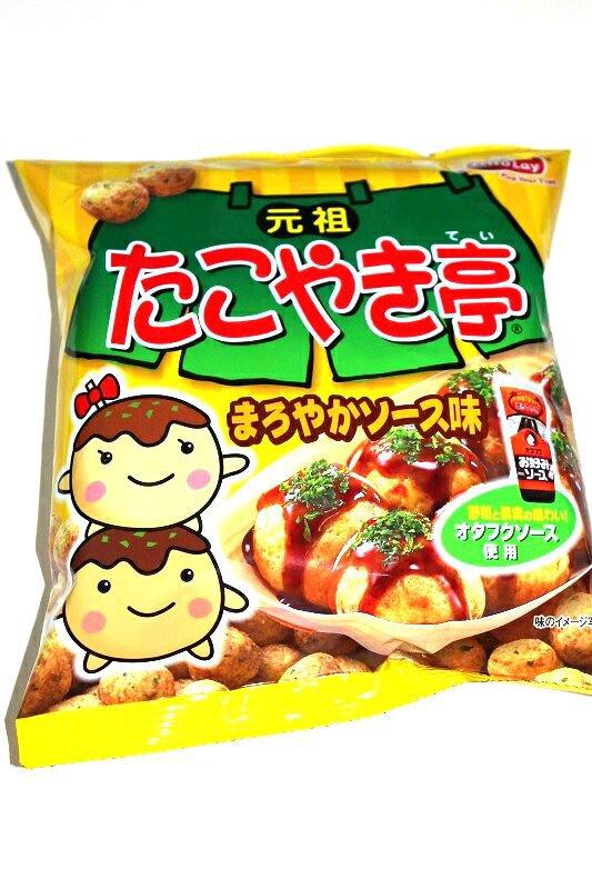 Takoyaki Flavor Crunchy Snack- Japan Corn Snacks