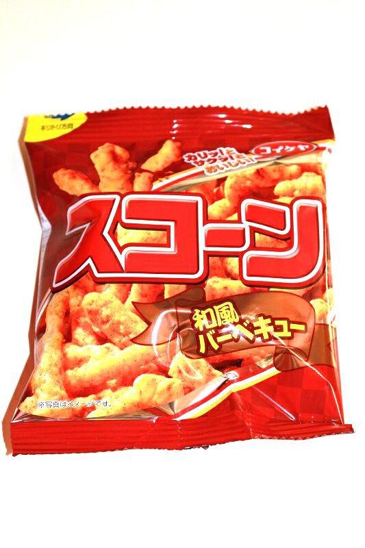 Scone Barbecue (BBQ) Corn Snack Mini Pack- Japan Snacks