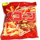Scone Barbecue (BBQ) Corn Snack Mini Pack- Japan Snacks