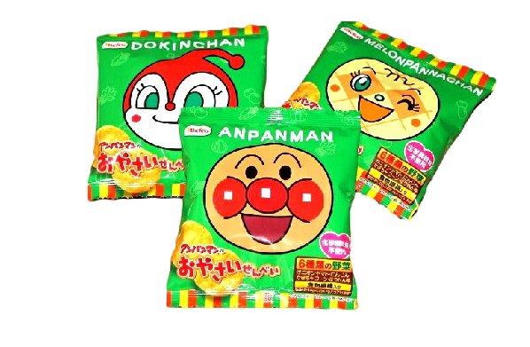 Anpanman Vegetable Rice Crackers Mini Pack- Japan Snacks