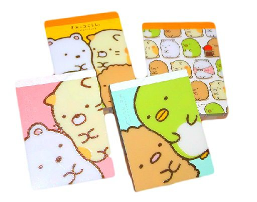 Sumikko Gurashi Surprise Memo Pad/Notepad- San-x Stationery Japan