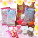 Made in Japan Cosmetics Gift Set Kawaii Makeup! (Assorted Lip Gloss, Eyeshadow, Makeup Remover)