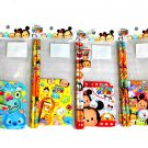 Disney Tsum Tsum Mini Stationery Goods Set (4 Pcs): Full of Tsum Tsum Goods!