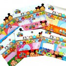 Disney Tsum Tsum Surprise Sticky Memo Labels Adhesive Stick Markers Fusen- Kawaii Stationery Japan