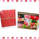 Nestle Kit Kat Chocolate Gift Set (Assortment of Flavor Kit Kats )- Japan Candy and Snacks
