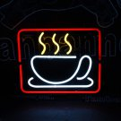 TANBANNER Neon Sign 8MM COFFEE CUP NEON LIGHT N145