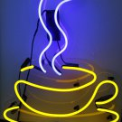 TANBANNER Neon Sign SISTER COFFEE CUP GLASS BASE NEON N188