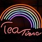 Tanbanner  Tea Time Rainbow Art Neon N199