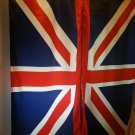 "TANBANNER Art NEON ENGLAND FLAG curtains 119"""