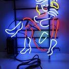 Tanbanner Las Vegas Cow Girl Bar Art Neon sign Light N112