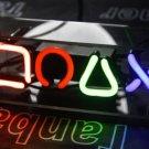 TANBANNER Glass Games Neon Sign Light D001GA
