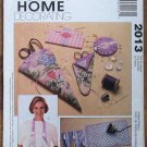 McCall's Sewing Room Accessories Home Dec Pattern 2013