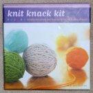 KNIT KNACK KIT 25 Project Cards Plus Tools Kris Percival New