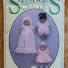 "Syndee's Crafts 12"" Doll Clothes Pattern Makes 3 Outfits 1994 NIP"