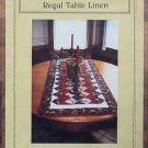 Needle Patch Patchwork quilted Regal Table Runner Pattern NIP 1999