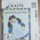 McCall's Pattern 4186 Sophie Ragtime Doll Playmate Everyday Clothes NIP 2003