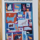 Too Many Cats Wall Hanging for Machine Applique Pattern Konchinsky